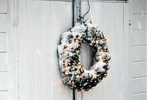 Outdoor decoration - winter, christmas