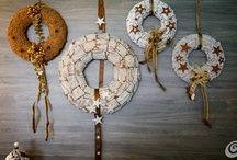 Wreaths / all kind of wreaths - outdoor, indoor, holidays, for ordinary day / by Dominstil Casaetrend