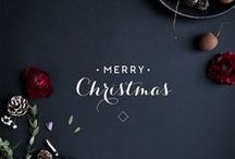 Black and grey (gray) Christmas / Inspiring photos for Christmas in gray and  black colours.  / by Dominstil Casaetrend