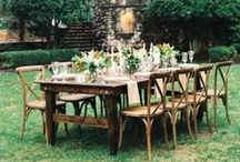 Refined Rustic Weddings / If you're anti-burlap, this is the place for you.