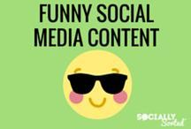 Funny Social Media Content / Funny memes, images, and videos that have a social media theme. Enjoy!