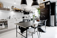 Kuhinje Kitchens / Not only for cooking and  food preparations, but good designs, fabulous colors and great color pallet. From Scandinavian white and light to Mediterranean rich and bright.   / by Dominstil Casaetrend