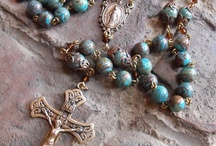 Rosaries are Heaven's Weapon / Vintage and Antique Rosaries, Rosary Tutorials, Prayer Chaplets / by Janet Fuller