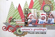 Scrapbook Pages - Winter