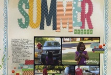 Scrapbook Pages - Summer