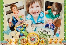 Scrapbook Pages - Spring