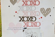 Scrapbook Pages - Vday and Love
