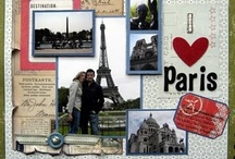 Scrapbook Pages - Travel