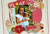 Scrapbook Pages - October Afternoon / by Lauren Mullarkey