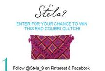 Stela 9 End Of Summer Giveaway / Instructions:   1. Like our Pinterest and FB Page 2. Re-pin your favorite image using hashtag #Stela9Style 3. Leave a comment on our cover photo with your Pinterest username  4. Share on FB and tag us @stela9 for an extra entry!  GOOD LUCK!