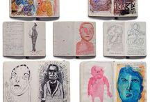 note & sketchbooks