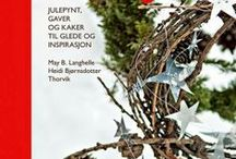 """GOD JUL (MERRY CHRISTMAS) /   Photos from the norwegian book """"GOD JUL"""" (MERRY CHRISTMAS) made by May B Langhelle and Heidi Bjørnsdotter Thorvik. And also photos with things made from the book by others."""