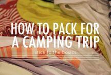 Camping Hacks & Tips