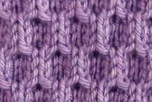 Knitting. Stitches / by Betty Miller