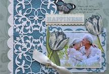 Scrapbook Pages - Anna Griffin