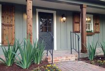 Home Exterior / Exterior paint color options and ideas