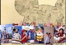Scrapbook Pages - Disney