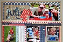Scrapbook Pages - 4th of July