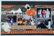 Scrapbook Pages - Halloween / Halloween