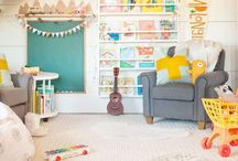 Pretty Play Spaces / Inspiration for playrooms and creative nooks for littles