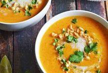 Vegetarische Suppen / Vegetarian soups