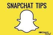 Snapchat Tips / Everything Snapchat.  Snapchat Tips, Tricks, Strategies.  How to use Snapchat for Business.