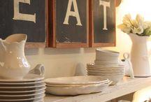 H O M E - kitchen & dining / by Jennie Esplin {Cinnaberrysuite}