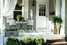 H O M E - porch & patio / by Jennie Esplin {Cinnaberrysuite}