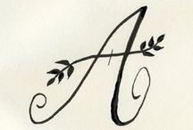 H A N D / T Y P E. / handwriting and calligraphy.