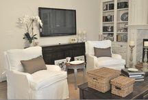 H O M E - family room / Family Room decorating ideas. / by Jennie Esplin {Cinnaberrysuite}