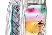illustrator / graphic designer / painter / abcdewxyz.tumblr.com /// instagram.com/audreybozzetto  / by Audrey BOZZETTO