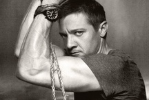 Jeremy Renner / My huge crush of the moment : Actor Jeremy Renner (Avengers, The Hurt Locker, Bourne Legacy, The Town...)
