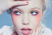 Beautyfication. / Make-up and nails / by Delphine Goudesone