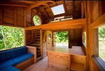 Tiny House Interior / Internal setups of tiny houses