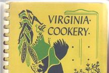 """Recipe Book Covers / These quirky recipe books can be found in the LVA Collection. October is Archives Month, and under the """"homegrown"""" theme, we'd love to see your unique or family cookbooks! Post and tag us (@LibraryofVa) to be added to this board."""