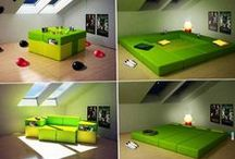 Tiny House Furniture / Furniture that enhances the tiny home/simple life: small, convertible