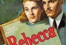 Rebecca(Rebecca, a mulher inesquecível - 1940) / Uma jovem de origem humilde (Joan Fontaine) se casa com um riquíssimo nobre inglês (Laurence Olivier), que ainda vive atormentado por lembranças de sua falecida esposa. Após o casamento e já morando na mansão do marido, ela vai gradativamente descobrindo surpreendentes segredos sobre o passado dele. / by Madalena Mendonça