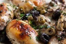 Edibles/Chicken/Med/Olives