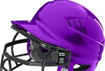 Softball Batting Helmets / Universal batting helmets, fastpitch batting helmets & NOCSAE masks! / by Softball Rampage