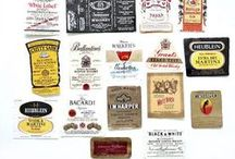 Vintage Labels / Wines and spirits from around the world.