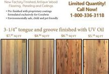 Wood Flooring: Heart Cypress Select- Antique River-Recovered® Heart Cypress