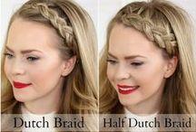 //HAIR// Peinados / Inspiración de peinados, trenzas y recogidos