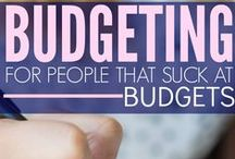Budgeting: How to, tips and Tricks / This board is to help with #Budgeting Tips, #step by step instruction for creating budget, # How to manage and stick with the prepared budget etc.....