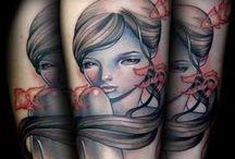 tattoos. / by Cristina Kawecki