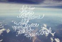 Words / by Teenie Lyro