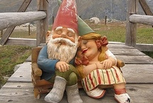 Gnome Sweet Gnome / Gnomes are said to bring you good luck if you keep them in your garden.