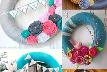 {Hobbies} Wreaths / Wreath ideas