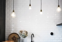 Modern Country DIY Kitchen / Still want to incorporate that blue in my kitchen!!