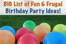 Kids Party Ideas . . . Cause I'm a Grandma!