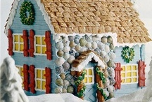 Gingerbread Houses / Confectional creations that explore the imagination of adults and children alike.  Who hasn't dreamed of living in a gingerbread  house? (if only until you ate your way out!)